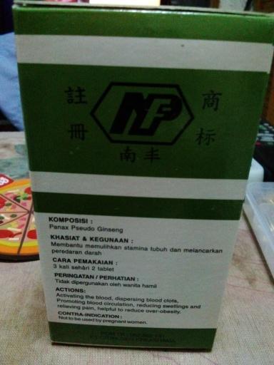 Kegunaan Obat Herbal Tien Chi