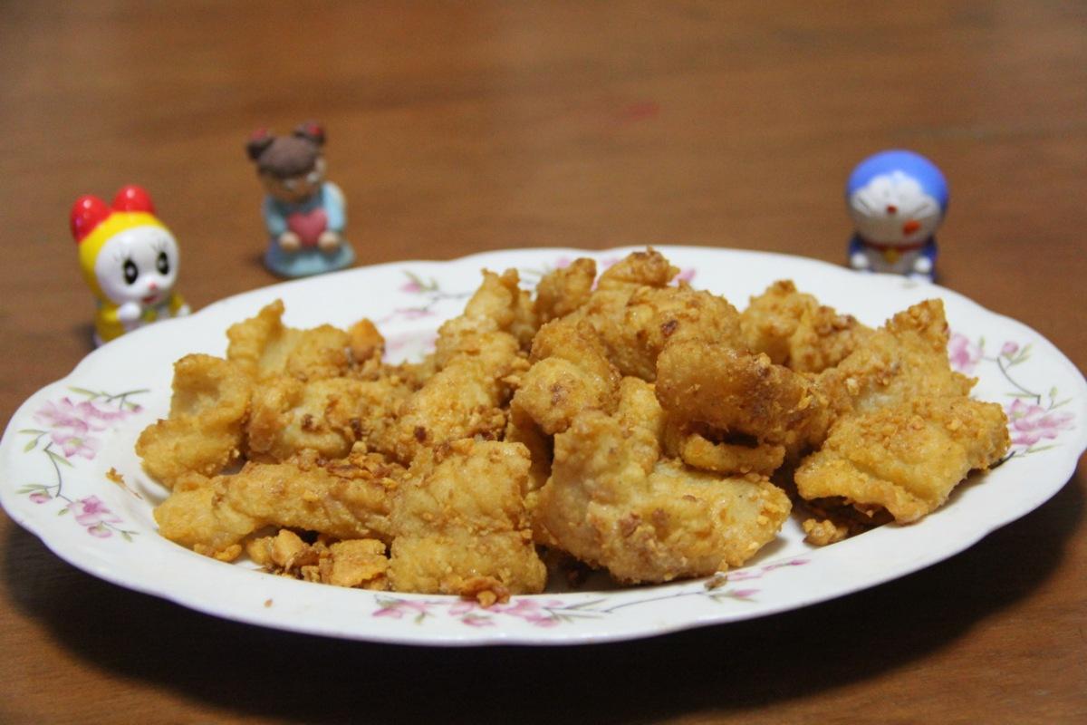 Resep : Ikan Dori Telur Asin