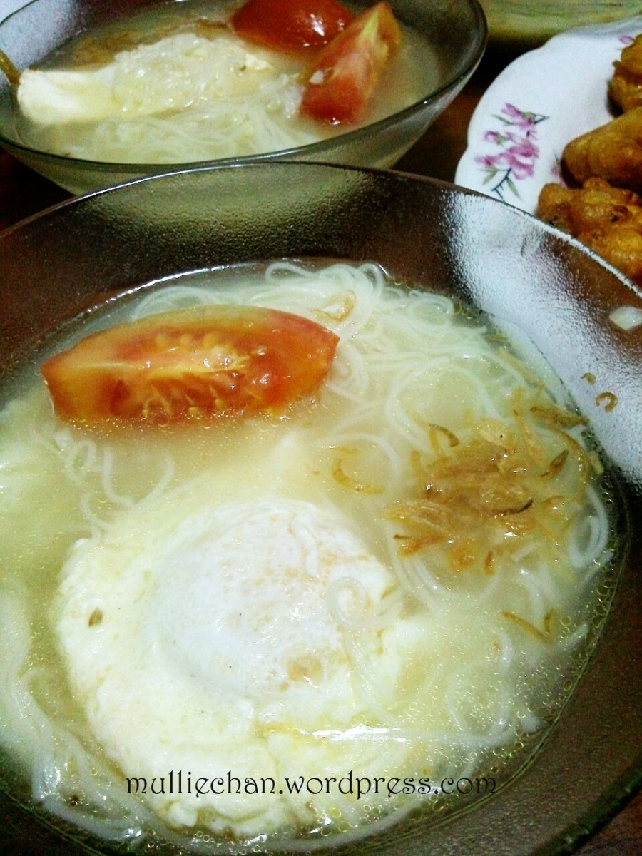 Resep : Mee Sua Kuah Favorit