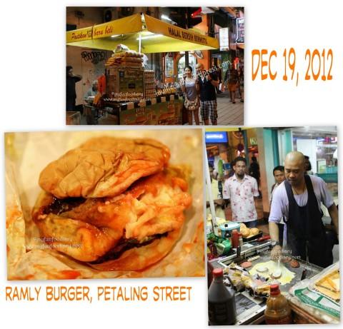 Burger Lembu Ala Ramly Burger