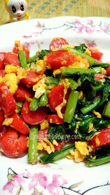 Orak Arik Sosis Mixed Sayuran